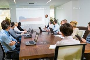 Boardroom Training Session