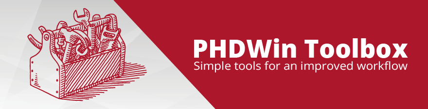 PHDWin Toolbox Highlight: Supported Data Types