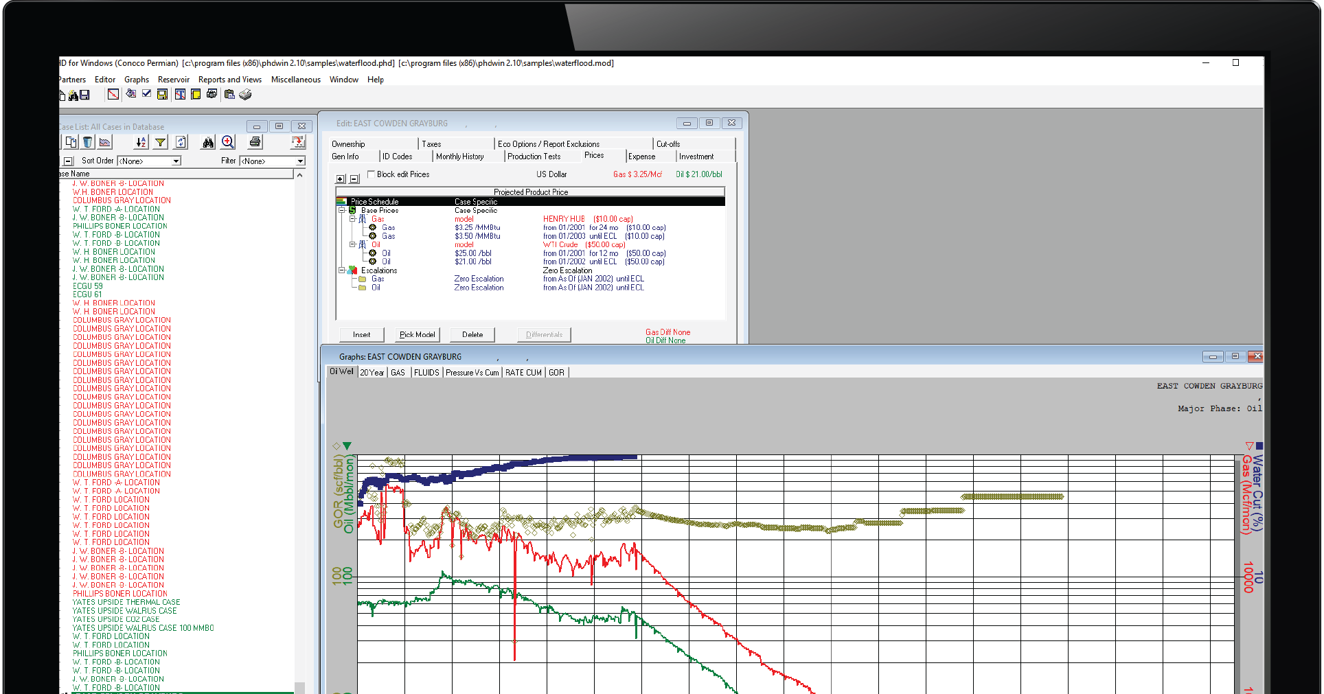 PHDWin Reserves & Economics Software
